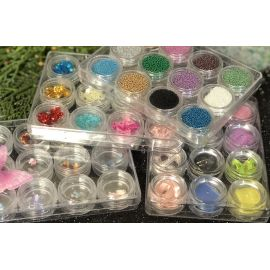 Butterfly Ceramic Nail Art - 12 kinds