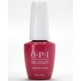 {[ar]:OPI GelColor - 15 Minutes of Flame