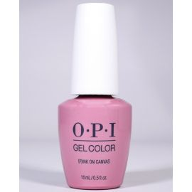 OPI GelColor PInk on Canvas #GCLA03