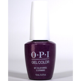 OPI GelColor My Color Wheel is Spinning HPN08 Celebration Collection