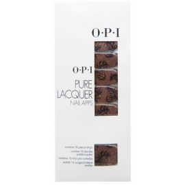 Opi Pure Lacquer Nail Apps -Pink & Black Lace