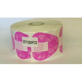 Pink Double Thick Form Roll of 500