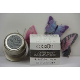 Axxium OPI Soak-Off Gel Lacquer Lucerne-Tainly Look Marvelous / 0.21 Oz