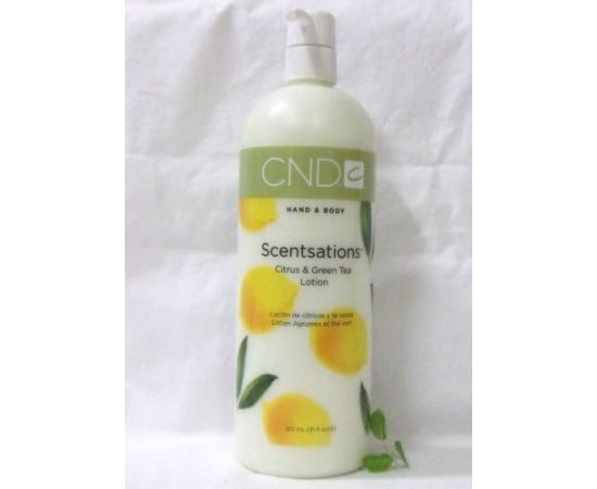 Citrus And Green Tea Hand & Body Lotion by CND Scentsations 917 mL 31 fl Oz