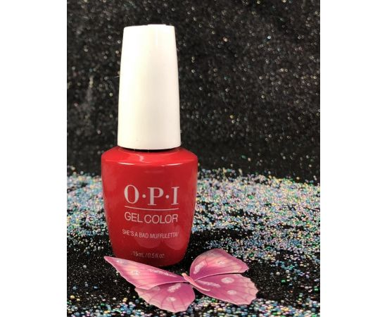 OPI Shes a Bad Muffuletta GCN56 Gel Color New Look