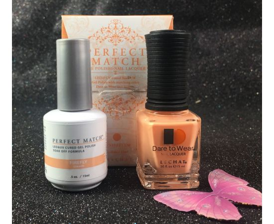 LeChat Firefly FAIRY Collection Perfect Match Gel Polish & Nail Lacquer PMS194
