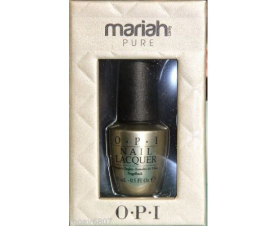 MARIAH PURE 18K Wite Gold And Silver Top Coat by OPI