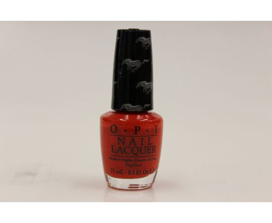 OPI NAIL LACQUER- FORD MUSTANG COLLECTION - RACE RED