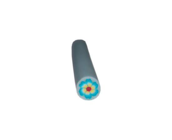 Fimo Art Stick - Yellow & Red Flower