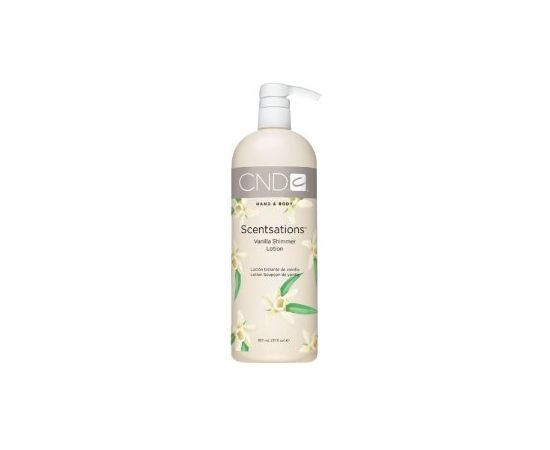 Vanilla Shimmer Hand & Body Lotion by CND Scentsations 917mL/31oZ